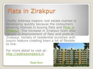 Flats in Zirakpur