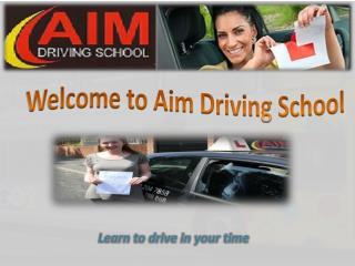 Aim Driving School