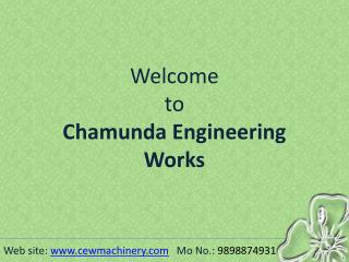 Mineral Water Turnkey Projects  | Chamunda Engineering Works