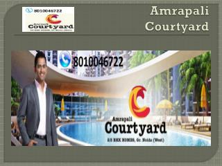 2 BHK Apartments in Amrapali Courtyard Noida Extention
