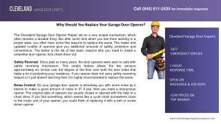 Why Should You Replace Your Garage Door Opener?
