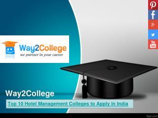 top ten hotel management colleges