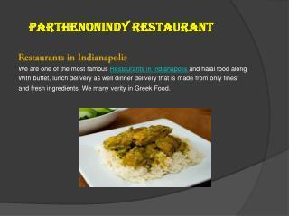 Restaurants in indianapolis