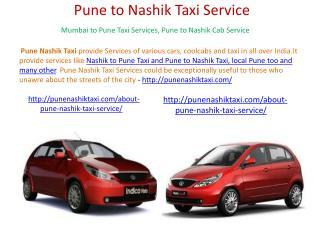 Pune Nashik Local Taxi
