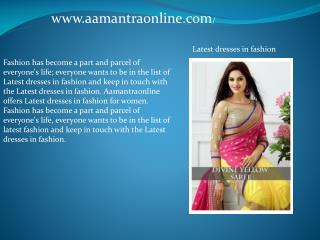 Get Latest Women's Fashion Clothing Online in Affordable Ran