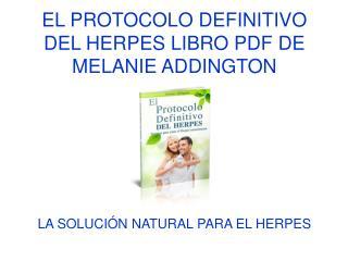 El Protocolo Definitivo del Herpes libro pdf