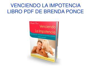 Venciendo la Impotencia libro pdf de Brenda Ponce