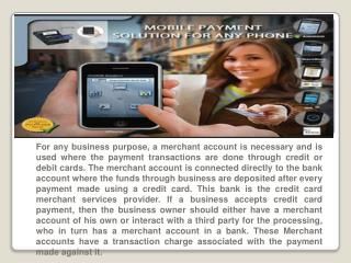 cell phone credit card processing