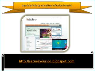 Remove Ads by eDealPop (Removal Guide), How To Remove Ads by