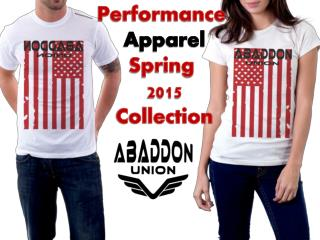 Performance Apparel 2015 Spring Collection By Abaddon Union