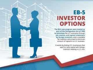 EB-5 Investor Options
