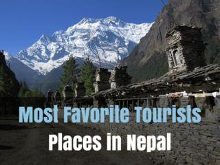 Most Favorite Tourists Places in Nepal