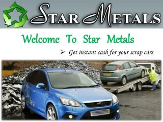 Car Wreckers Melbourne - Star Metals