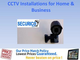 CCTV Installations for Home & Business