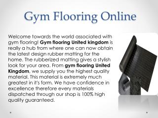 Gym Glooring Online