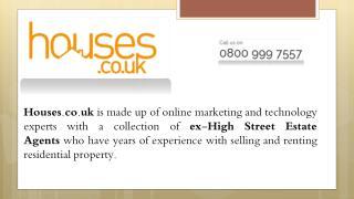 Sell House Online UK