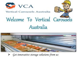 Vertical Carousels Australia - Warehouse Shelving