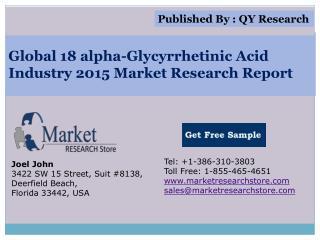 Global 4-Methoxyphenol Industry 2015 Market Analysis Survey