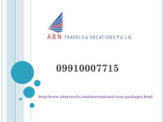 International Tour Operators In Noida