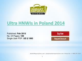 Poland Ultra HNWIs 2014 Market
