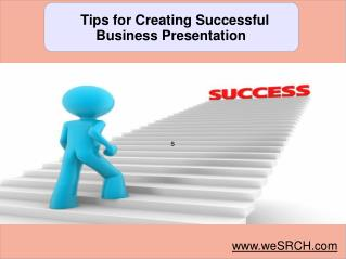 Tips for Creating Successful Business Presentation