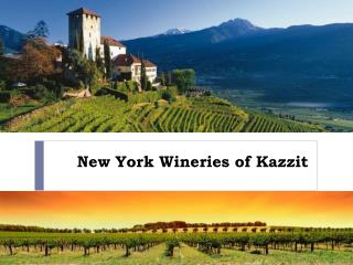 New York Wineries of Kazzit