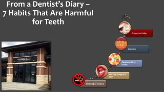 From a Dentist's Diary – 7 Habits That Are Harmful for Teeth