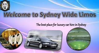 Luxurious Cars for Hire in Sydney - Sydney Wide Limos