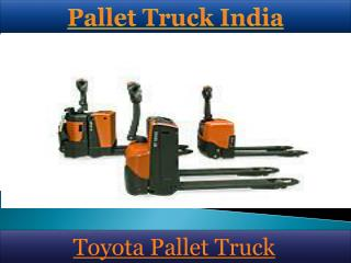 Pallet Truck India
