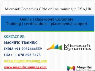 ms dynamics ax crm online training in canada