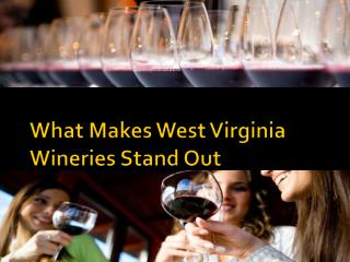 What Makes West Virginia Wineries Stand Out