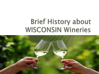 Brief History about WISCONSIN Wineries