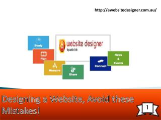 Designing a Website, Avoid these Mistakes!