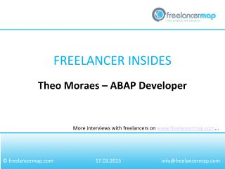 Theo Moraes - ABAP Developer