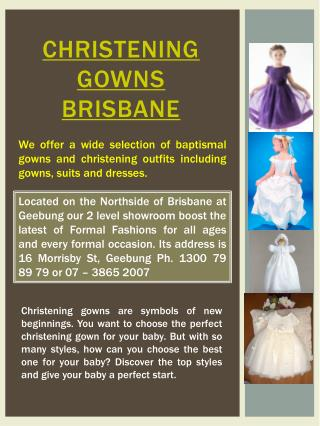 Communion dress Brisbane