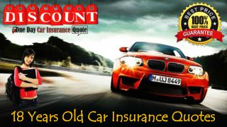Car Insurance Deals For 18 Year Olds