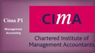 CIMA P1 Practice Test