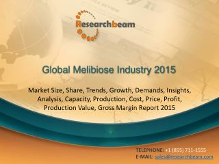 Global Melibiose Industry Size, Share, Market Trends, Growth
