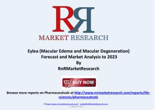 Eylea Macular Edema Forecast and Market Analysis to 2023