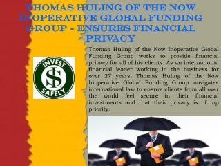Thomas Huling Global Funding Group