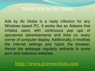 Remove Ads by Air Globe: uninstall it permanently