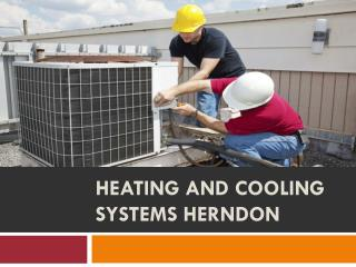 Heating and cooling systems Herndon