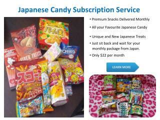 By Japanese Food Box Subscription