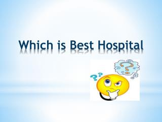 Best Hospitals in Pune