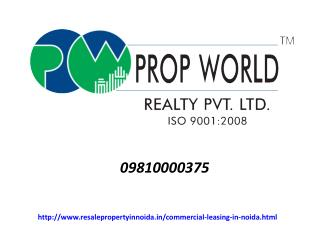 Commercial Leasing In Noida