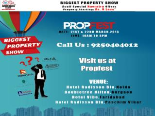 Investors Clinic Propfest in Delhi NCR -21 & 22 March 2015 |