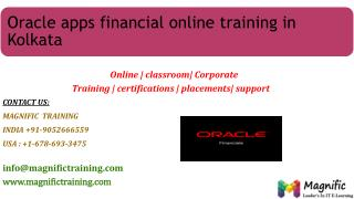 oracle financial online training in usa