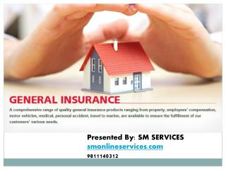 Buy general insurance plans