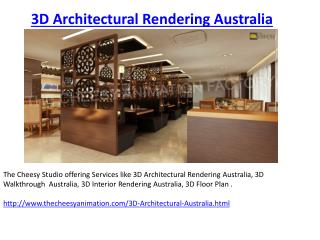 3D Walkthrough Australia - Architectural Rendering Australia