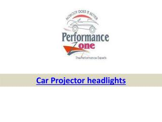 Buy car projector headlights